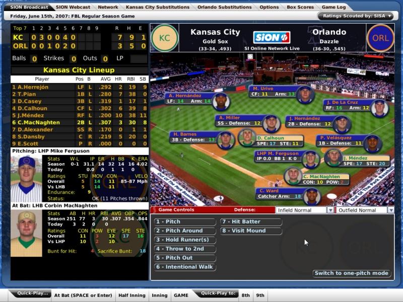 OOTP 8 is an award-winning baseball management simulation.